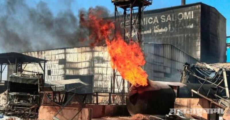 Sudan country, Blast in Factory