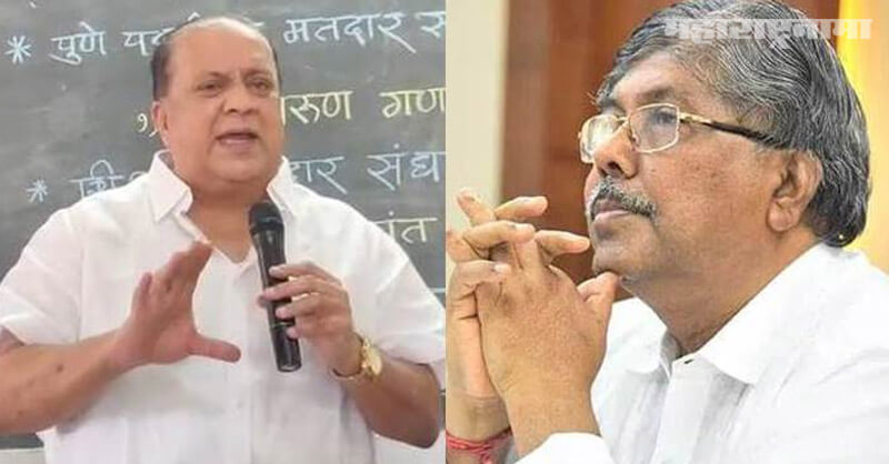 Minister Hasan Mushrif, Chandrakant Patil, Gram Panchayat election