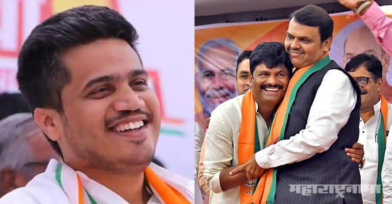 NCP Rohit Pawar, BJP MLA Gopichand Padalkar, Sharad Pawar