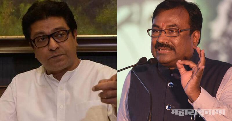 Sudhir Mungantiwar, MNS and BJP Alliance