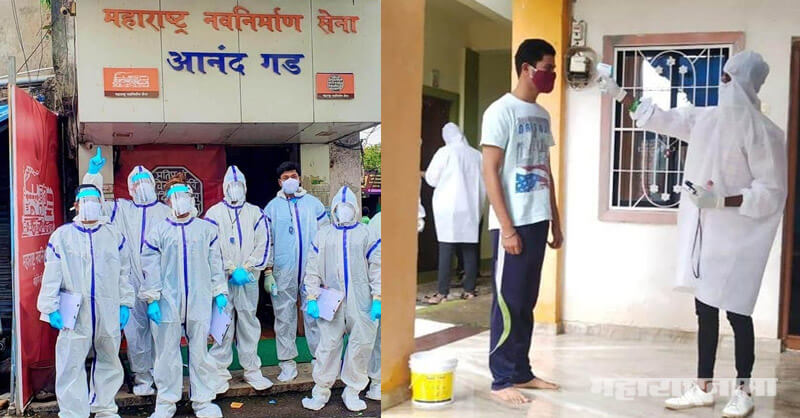 MNS workers, screening and oxygen level counting, Kalyan Dombivli, Corona crisis