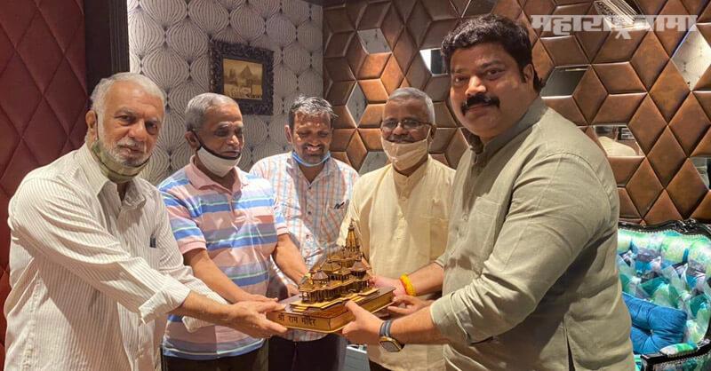 MNS MLA Raju Patil, donated fund, Ayodhya Ram temple nirman
