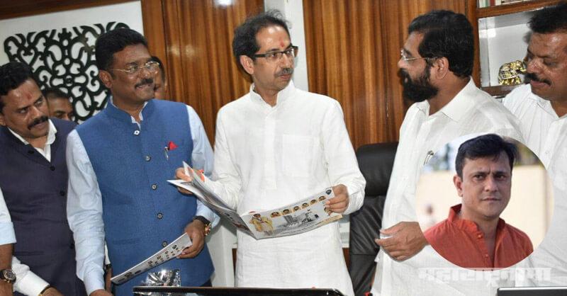 MNS leader Sandeep Deshpande, Minister Eknath Shinde, MP Rajan Vichare, Avinash Jadhav