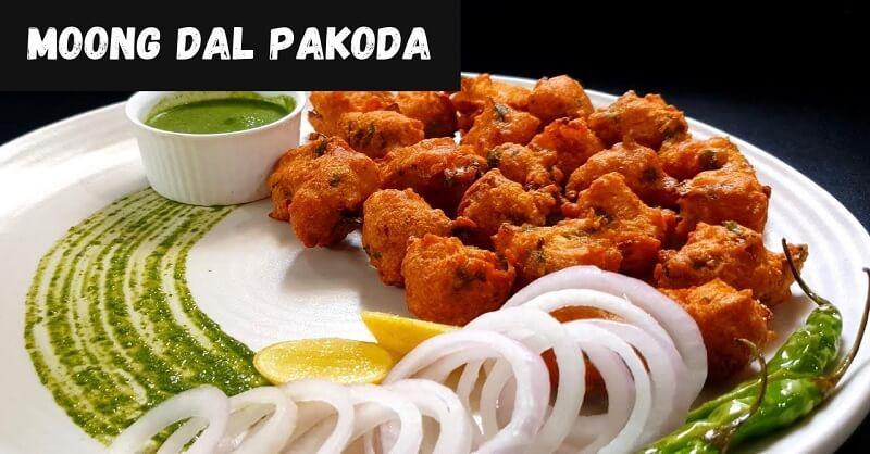 Moong Daal Pakoda recipe