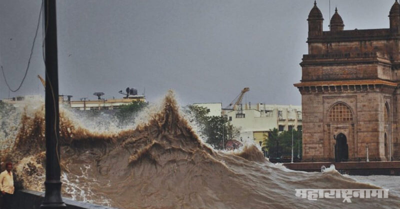 Mumbai City, Rising seas, Mumbai at Risk till 2050