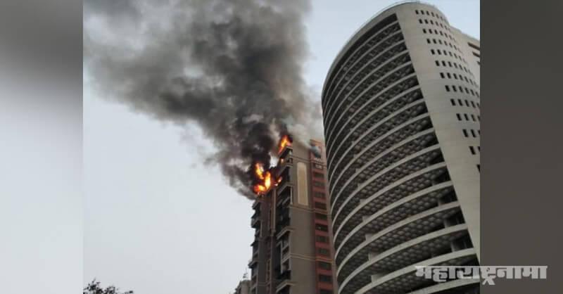 Navi Mumbai Fire in Seawoods