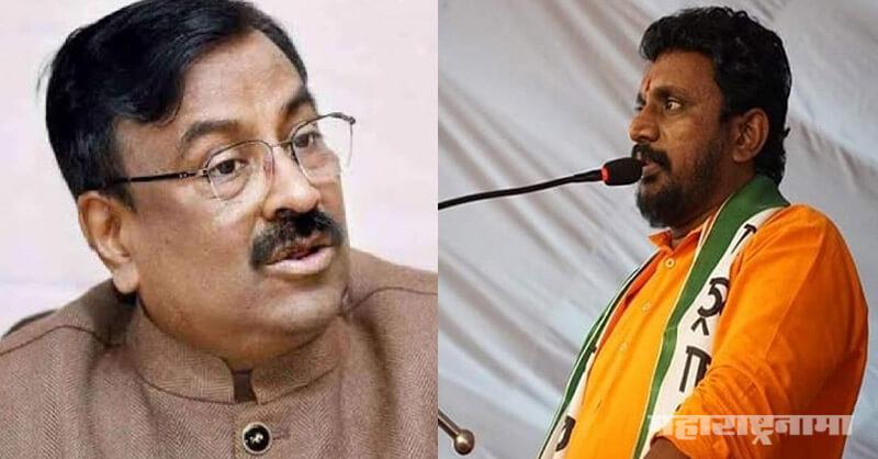 BJP Leader Sudhir Mungantiwar, NCP Leader Amol Mitkari