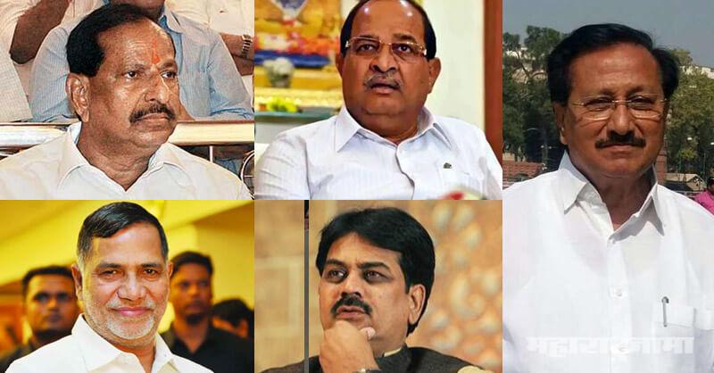 Sharad Pawar, Vijaysinha Mohite patil, Harshawardhan Patil, Krupashankar Singh, Ganesh Naik, Radhakrushna Vikhe Patil