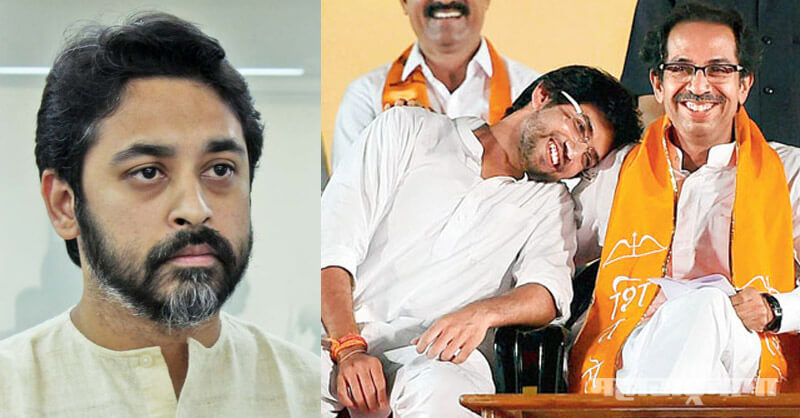 Shivsena MP Nilesh Rane, Aaditya Thackeray, Former MP Nilesh Rane