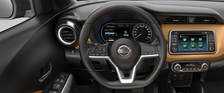 nissan kicks-steering-wheel