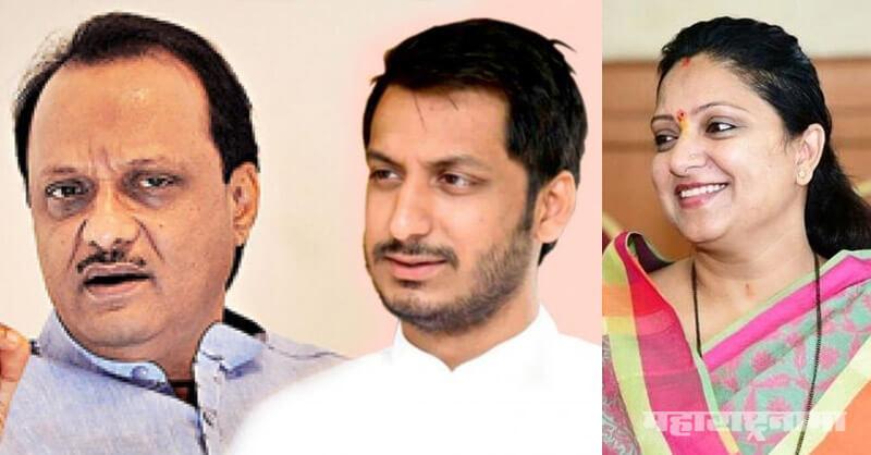 BJP leader Shoumika Mahadik, Kolhapur, Parth Pawar, Ajit Pawar