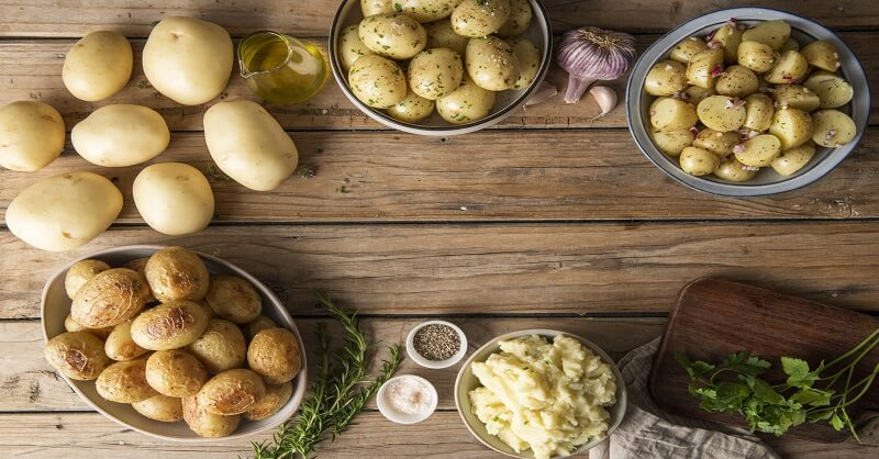 Eating Potatoes, beneficial, health article