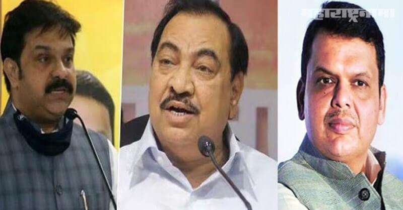 BJP MLA Prasad Lad, Eknath Khadse, Sharad Pawar
