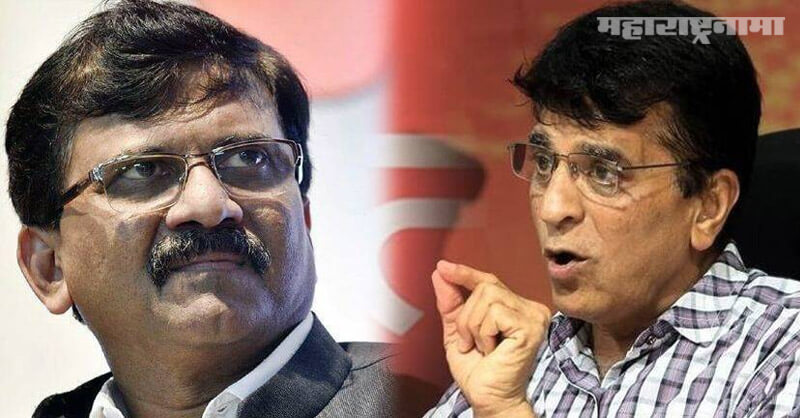 Shivsena MP Sanjay Raut, Kirit Somaiya, ED inquiry