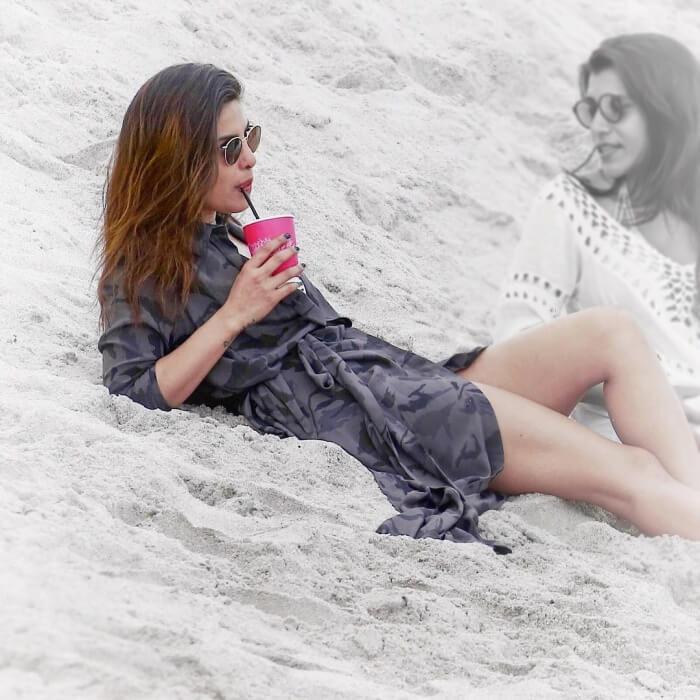 priyanka-chopra-relaxing-on-sand