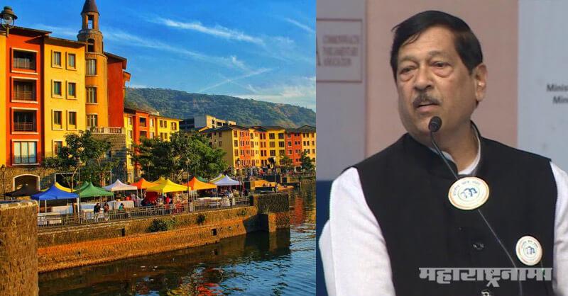 BJP MP Girish Bapat, Lavasa city, Huge Covid 19 Care Centre, Pune Mulashi