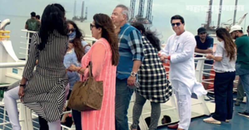 MNS Chief Raj Thackeray, Mumbai Mandwa Roro, Without Mask Penalty, Marathi News ABP Maza