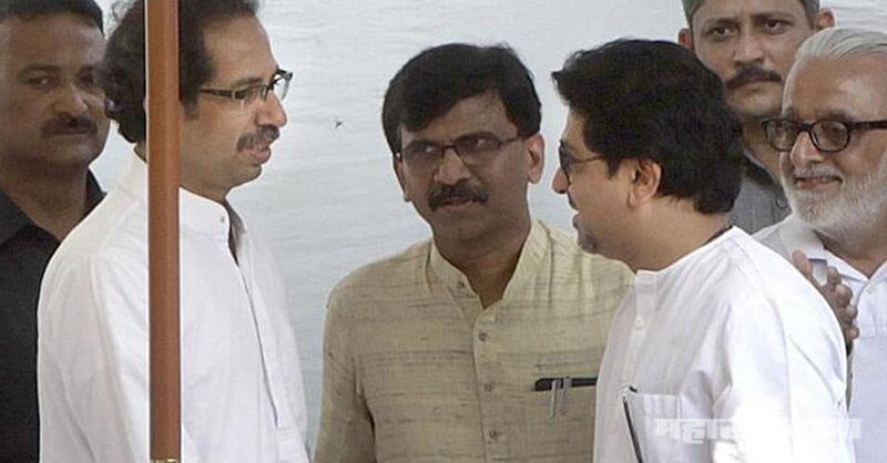 Raj Thackeray, Uddhav Thackeray, Shivsena MP Sanjay Raut