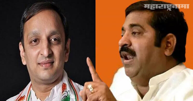 Congress leader Sachin Sawant, Ram Kadam, Assaulted a policeman