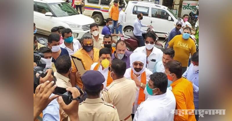 Ram Mandir, police arrested MNS activists, pray Lord Rama, Aurangabad