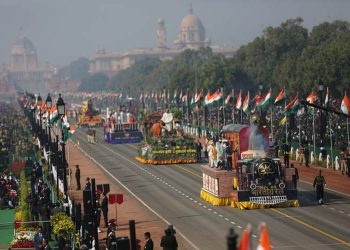 Rajpath witness military might as india celebrates 70th republic day