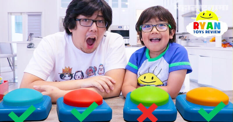 YouTuber Ryan Kaji, highest paid in 2020, Toys Review
