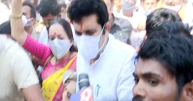 Sanjay Rathod, Pooja Chavan, Shivsena
