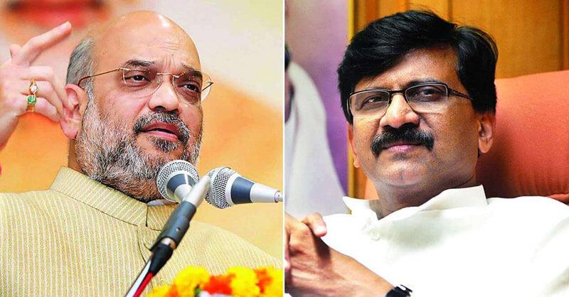 MP Sanjay Raut, Amit Shah, PN Narendra Modi, BJP, Shivsena