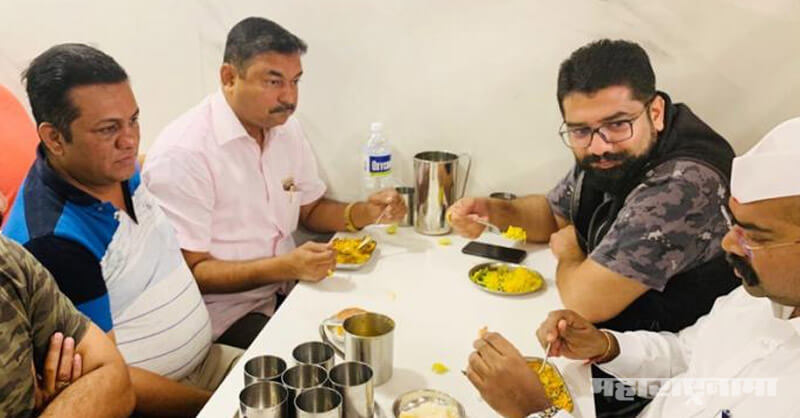 MLA Shivendraraje, Narendra Patil, MP Udayanraje Bhosale