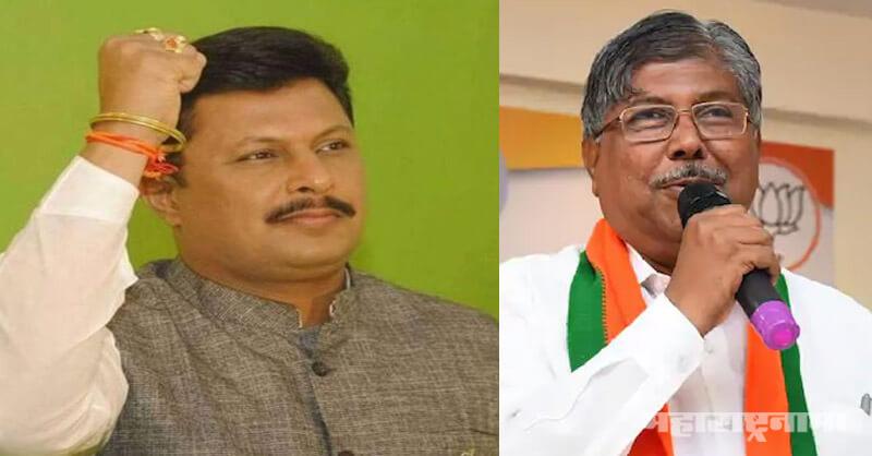 Shivsena, former MLA Rajesh Kshirsagar, BJP State president Chandrakant Patil