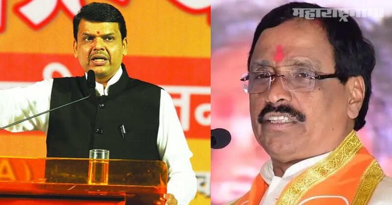 Devendra Fadnavis, MLA Nitesh Rane, Shivsena MP Vinayak Raut
