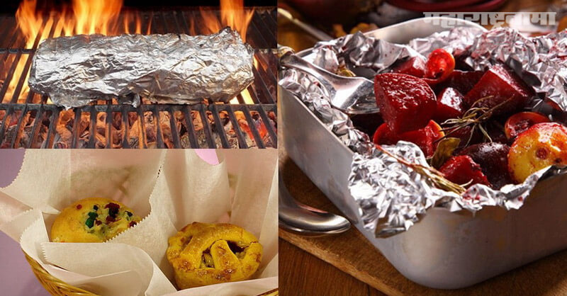 Foil paper, food packing, effect on health