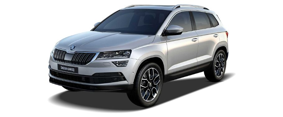 skoda karoq-front-left-side