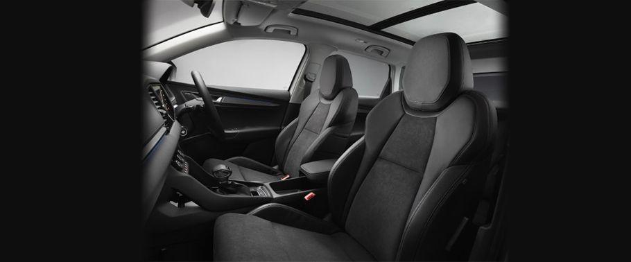 skoda karoq-front-seats-passenger-view