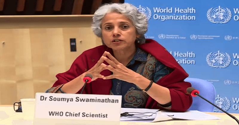 remedesivir, Dr. Soumya Swaminathan