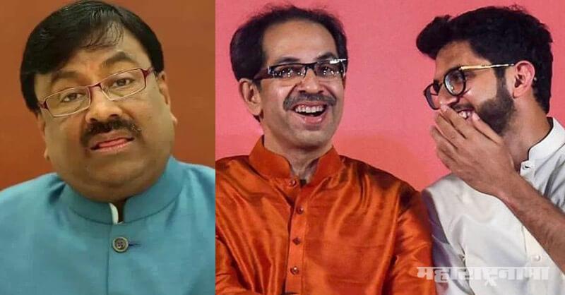 BJP Protest against MahaVikasAghadi, Azad Maidan Mumbai, BJP Leader Sudhir Mungantiwar