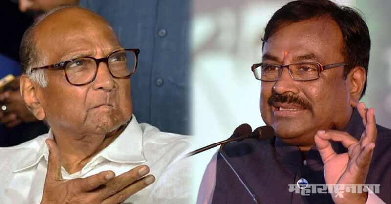 BJP Leader Sudhir Mungantiwar, Sharad Pawar, Ram Mandir Trust, babri Mosque