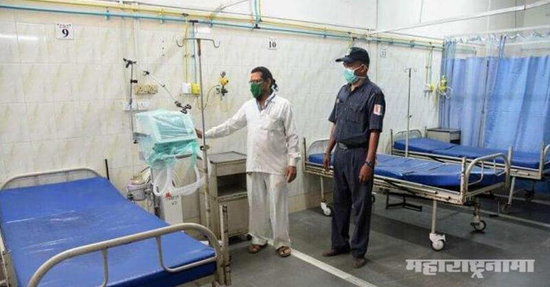 Corona Virus, Senior Citizen Dead at kasturba Hospital