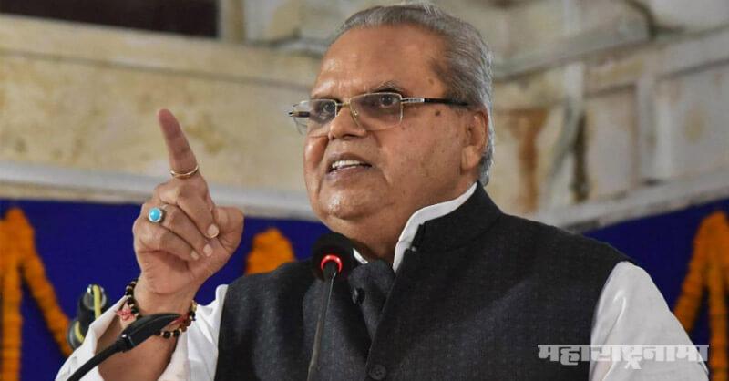 Goa Governor Satya Pal Malik, Governor in Jammu Kashmir drinks alcohol
