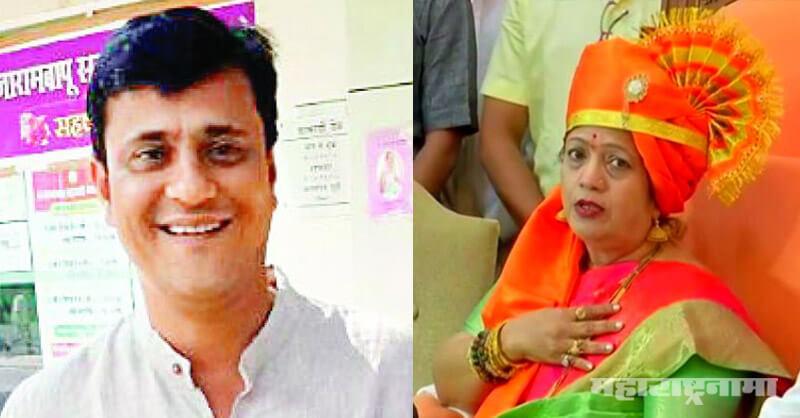 MNS Leader Sandeep Deshpande, Mumbai Mayor Kishori Pedanekar, Covid Contract given to son