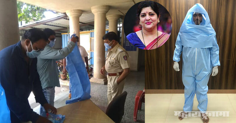 Sharmila Raj Thackeray, PPE Kit, Savitri Pratishthan, Corona Crisis