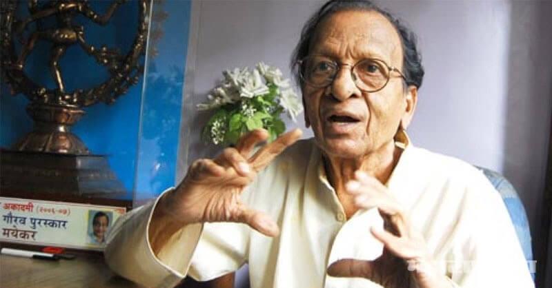 Marathi Actor Raja Mayekar, passed away