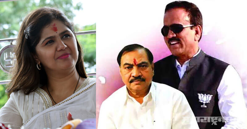BJP Anti Pankaja Munde politics, MLA Suresh Dhas, Marathwada Beed