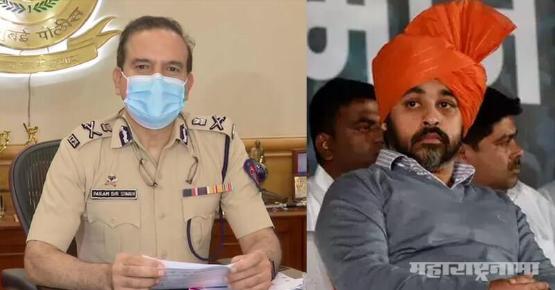 Former MP Nilesh Rane, Aaditya Thackeray, Mumbai Police Commissioner, press conference, Sushant Singh Rajput Suicide