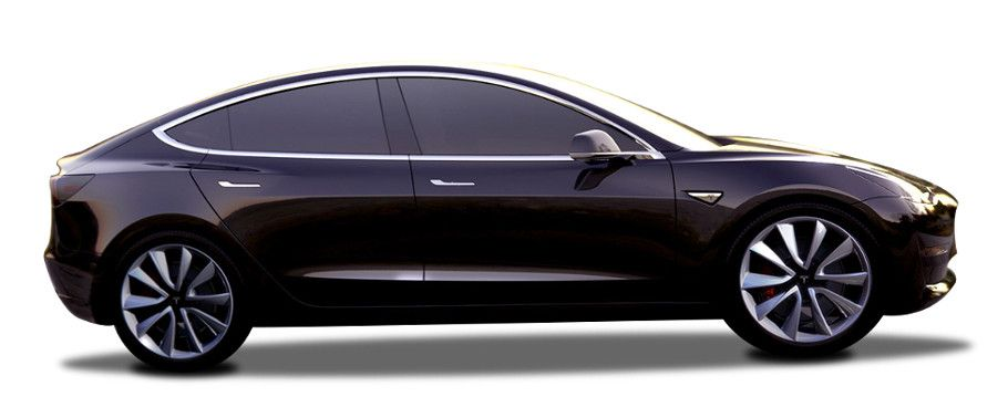 tesla model 3-side-view-right