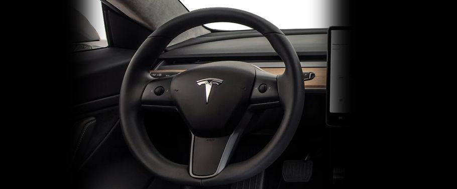 tesla model 3-steering-wheel
