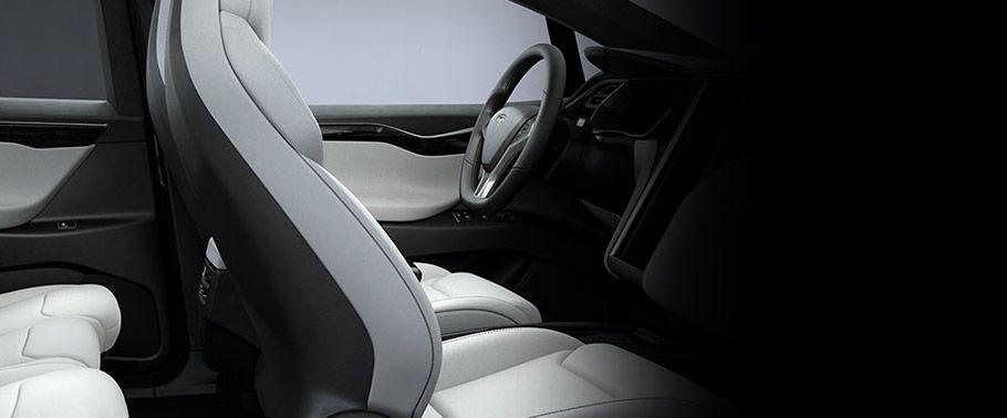tesla model-front-seats-passenger-view