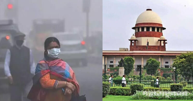 Pollution, Supreme court of India