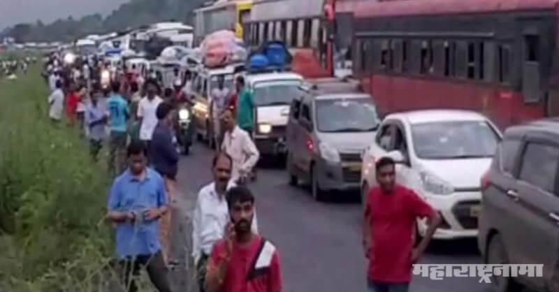 Mumbai Goa Highway, Highway Road Damaged