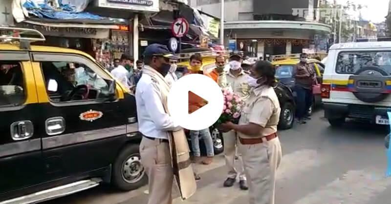 Mumbai Traffic Police, Attack by Women